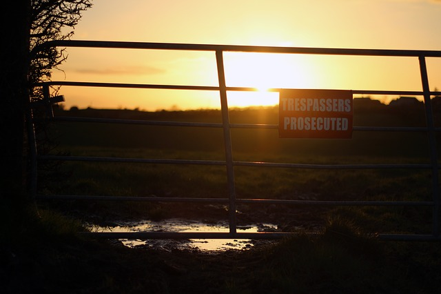 Trespassing Prosecuted Sunset